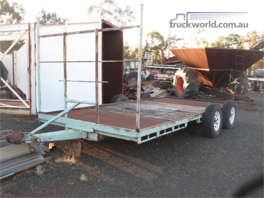 2000 Homemade Flat Deck Trailer - Trailers for Sale