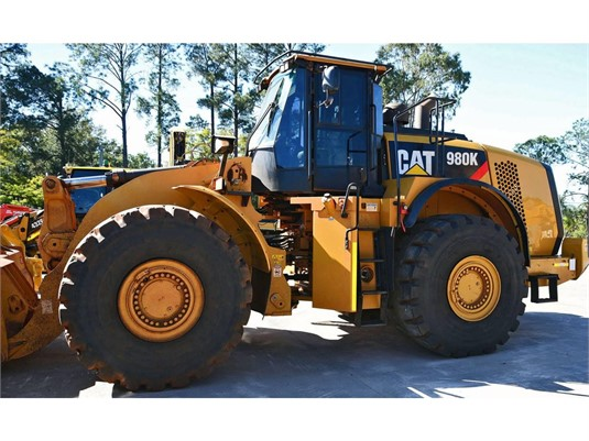 2014 Caterpillar 980K - Heavy Machinery for Sale