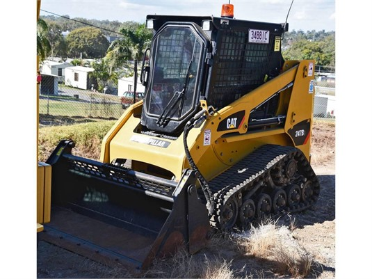 2015 Caterpillar 247B3 - Heavy Machinery for Sale