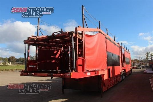2011 Inair Car Carrier B Double Set Semi Trailer Sales - Trailers for Sale