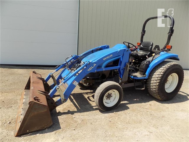 Lot # 277 - NEW HOLLAND TC35