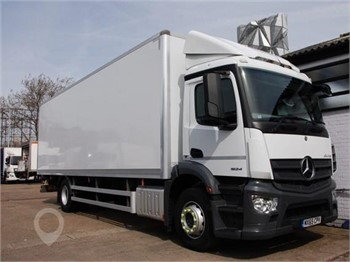 Modern Looking Mercedes Antos Box Van