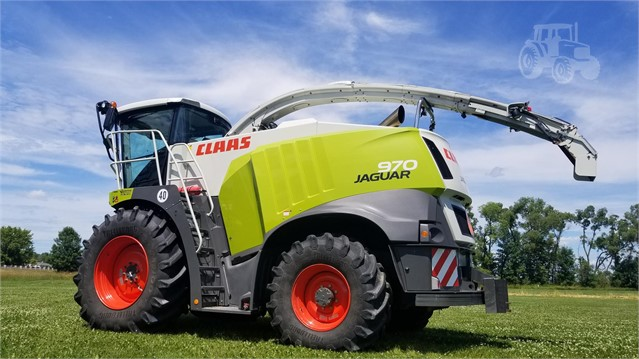 2015 CLAAS JAGUAR 970 For Sale In Brillion, Wisconsin | www