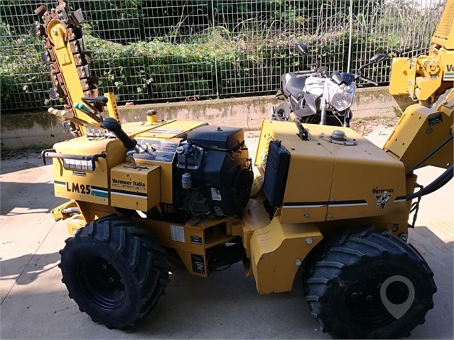 Used 2005 VERMEER LM25 For Sale In Mazara Del Vallo, TP Italy For