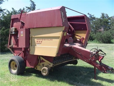 New Holland Round Balers Auction Results - 413 Listings