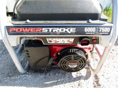 POWERSTROKE 7500W GENERATOR Other Auction Results - 1