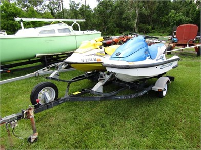 2) JETSKIS & DOUBLE TRAILER W/T Other Auction Results - 1