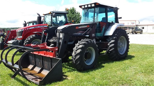 agco white tractor models