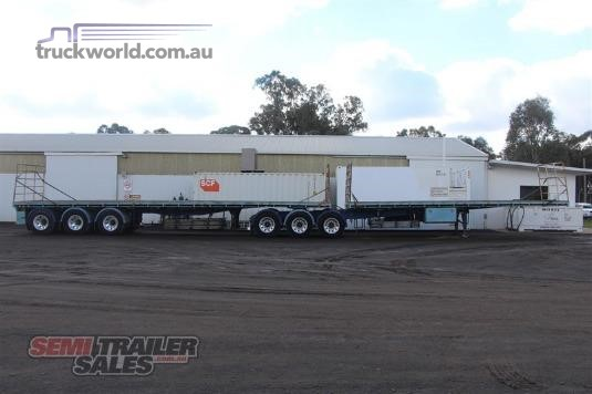 2006 Barker Flat Top Trailer Trailers for Sale