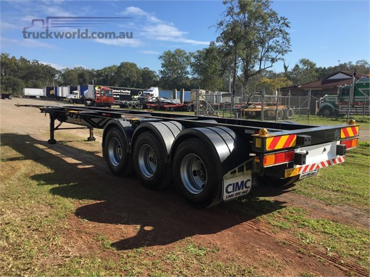 2012 Cimc other - Truckworld.com.au - Trailers for Sale