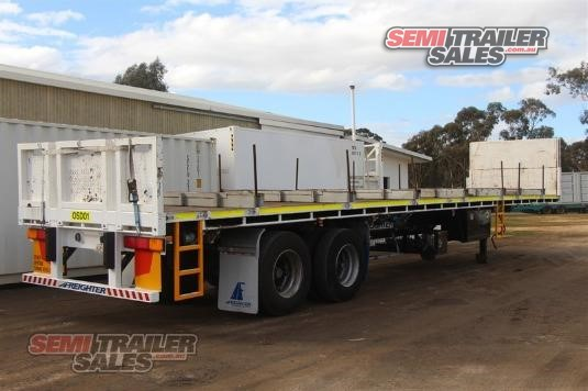 2010 Maxitrans 45FT Flat Top Semi Trailer Semi Trailer Sales - Trailers for Sale