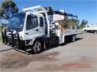 2007 Isuzu FSR 700 Long Crane Truck