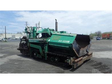BARBER-GREENE BG225 For Sale - 2 Listings | MachineryTrader com