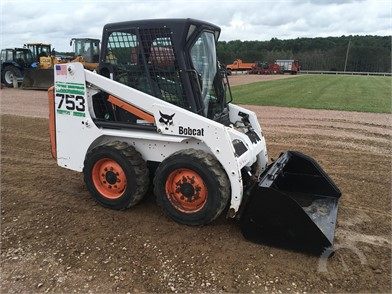 BOBCAT 753 Online Auction Results - 21 Listings