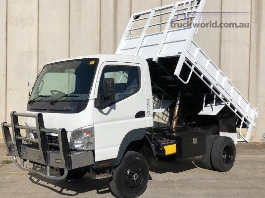 2010 Mitsubishi Canter 4x4 4x4|Table / Tray Top Drop Sides|Tipping Tray