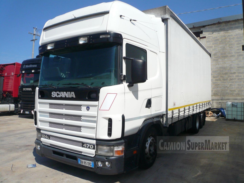 Scania P124L470 Uzywany 2003