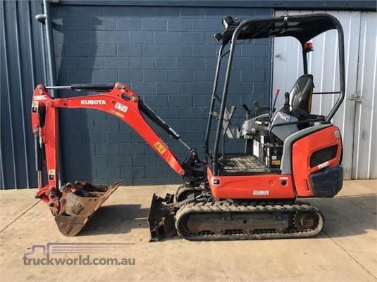 2013 Kubota KX018 Heavy Machinery for Sale