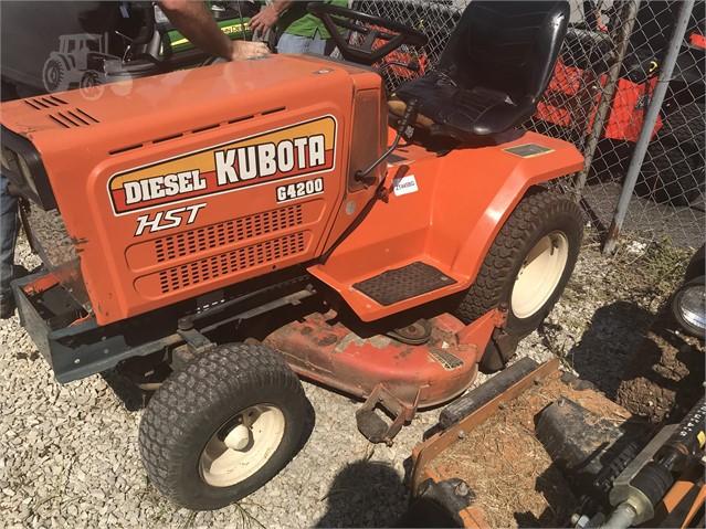 1988 KUBOTA G4200HST For Sale In Bowling Green, Kentucky