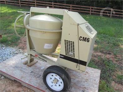 INGERSOLL-RAND Asphalt / Pavers / Concrete Equipment Auction