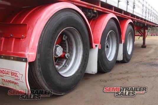 2002 Maxitrans 45FT Curtainsider Flat Top Semi Trailer Sales - Trailers for Sale