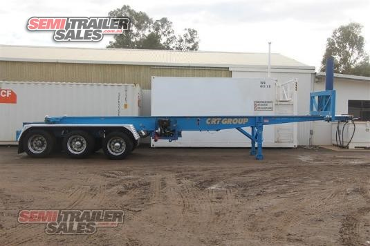 2000 Barker Tipping Skel Trailer Semi Trailer Sales - Trailers for Sale