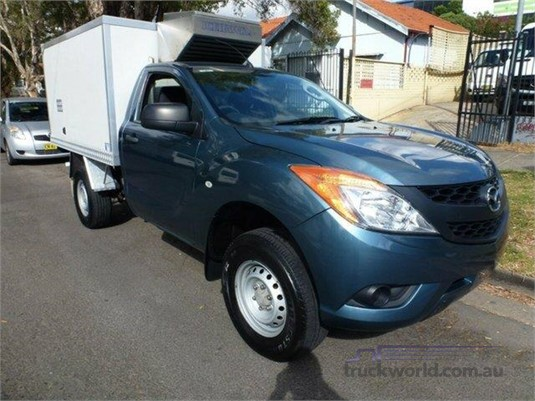 2012 Mazda Bt50 XT 4x4 Cab Chassis light commercial for sale B & S ...