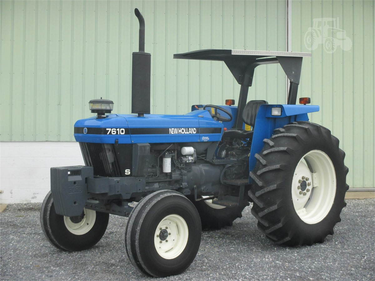 Gm Financial Phone Number >> 2002 NEW HOLLAND 7610S For Sale In Crest Rd Lebanon ...