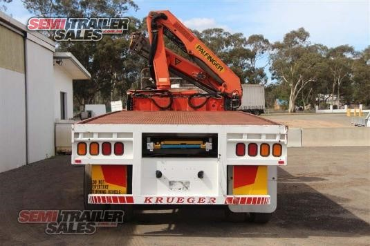 2006 Krueger Flat Top Trailer Semi Trailer Sales - Trailers for Sale