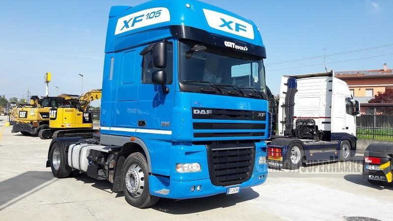 Daf XF105.460 used 2011 Lombardia