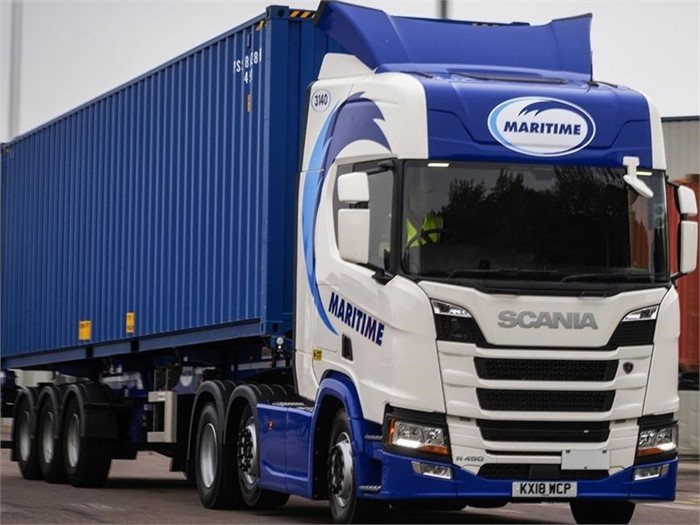 Maritime Transport Orders 200 Scania R450 Trucks | Truck Locator Blog