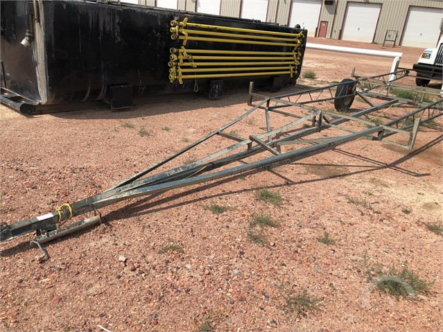 1900 HOMEMADE 20 FT PIPE TRAILER at AuctionTime.com ...