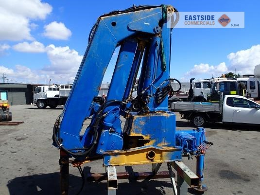 1983 Tico 572T Knuckle Boom Crane Eastside Commercials - Cranes & Tailgates for Sale