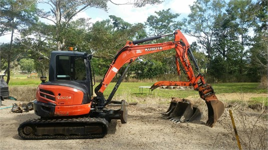 2012 Kubota U55-4 - Heavy Machinery for Sale