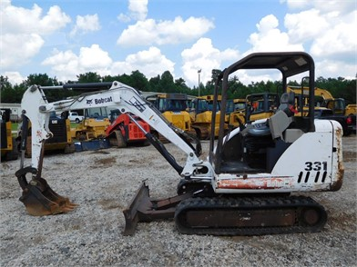 BOBCAT 331 Auction Results - 284 Listings | MachineryTrader com
