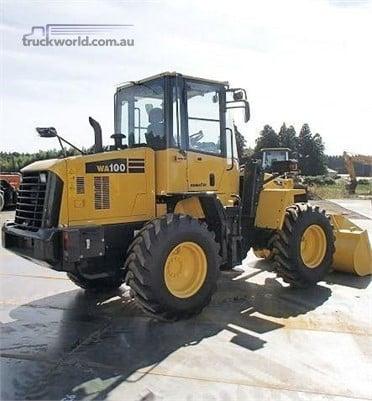 0 Komatsu WA100-6 - Heavy Machinery for Sale