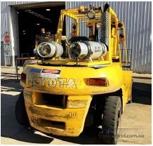 0 Toyota 5FG70 Forklifts for Sale