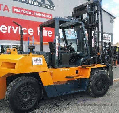 0 Toyota 4FD115 - Forklifts for Sale