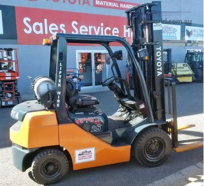 0 Toyota 8FG25 Forklifts for Sale