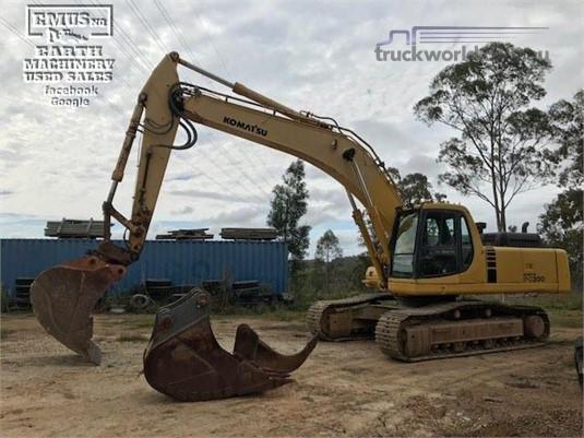 2002 Komatsu PC300 - Truckworld.com.au - Heavy Machinery for Sale