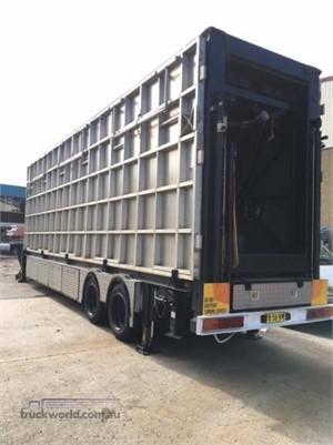 2000 Custom Built Hydraulic Mobile Stage Trailer Truckworld