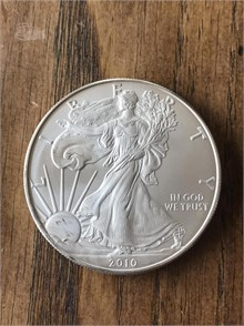 2010 AMERICAN SILVER EAGLE Other Items Auction Results - 1 Listings