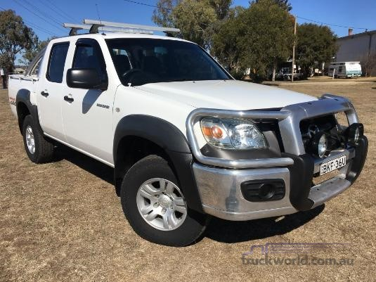 2009 Mazda Bt50 B3000 4 Door Cab Chassis light commercial for sale ...