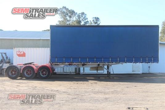 1996 Freighter A Trailer Curtainsider / Tautliner Semi Trailer Sales - Trailers for Sale