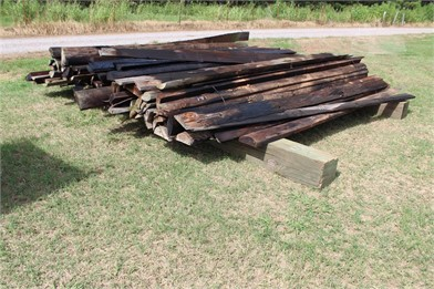 12' CREOSOTE HALF ROUND BOARDS Other Auction Results - 1