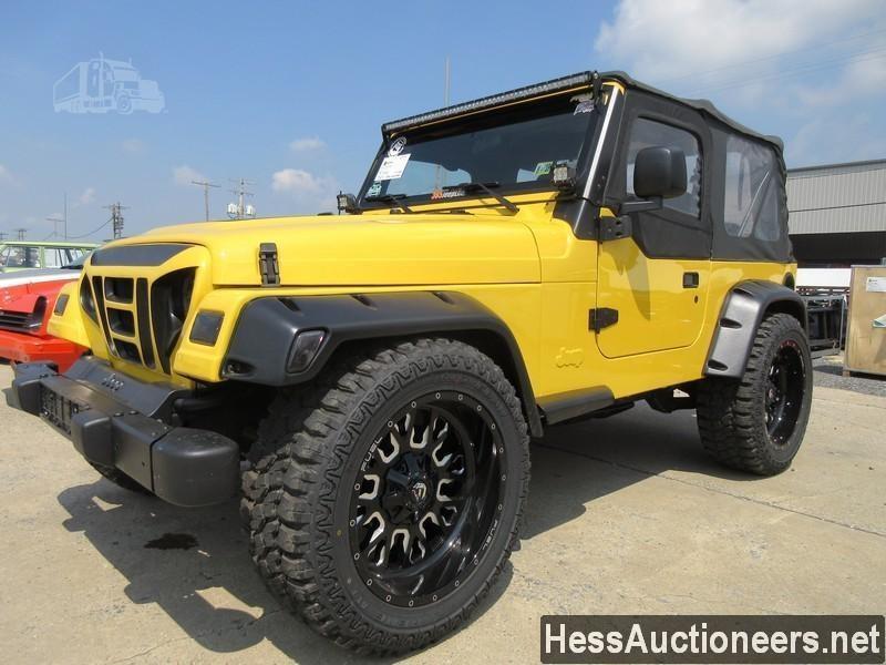 2005 Jeep Wrangler For Sale In Marietta Pennsylvania Truckpaper Com