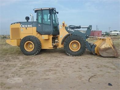 Deere Construction Equipment Auction Results In Stinnett
