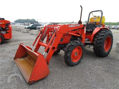 KUBOTA M4700 Online Auction Results - 2 Listings