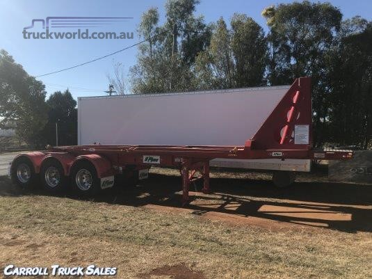2015 Ophee Skeletal Trailer Carroll Truck Sales Queensland - Trailers for Sale