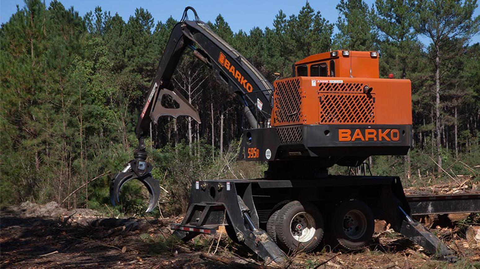 Trailer Log Loaders Logging Equipment For Sale - 307