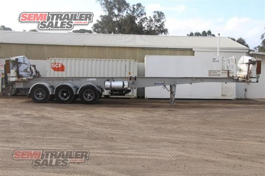 2004 Steelbro Sideloader Semi Trailer Semi Trailer Sales - Trailers for Sale